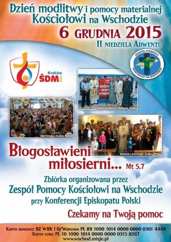 Dzień pomocy Kościołowi na Wschodzie